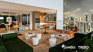 Rooftop Sky Lounge com terraço Gourmet