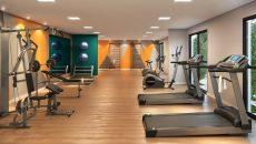 Salão de festas, fitness